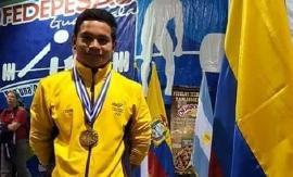 Héctor García campeón Panamericano de Levantamiento de Pesas