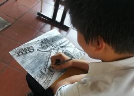 El Bicentenario se ilustra con creatividad estudiantil