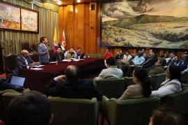 Gobernador dio respuesta a inquietudes de consejeros de Planeación