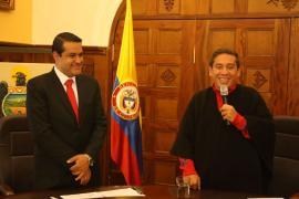 Ante el Gobernador de Boyacá asumió funciones el asesor de Control Interno Disciplinario