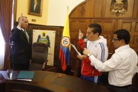 Gobernador de Boyacá posesionó a Secretario de Educación