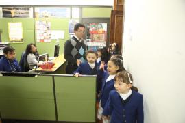 Niñas y niños del colegio de la Presentación de Tunja envían mensaje a Gobernador