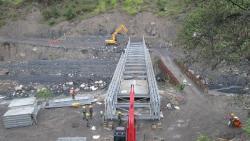 En Chiscas se inaugurará puente militar la próxima semana