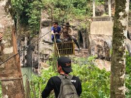 Puente de Labranzagrande es una realidad en el gobierno de Carlos Amaya