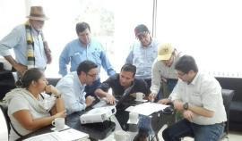 Visita de la Gobernación de Boyacá a los campos de explotación petrolera de Puerto Boyacá