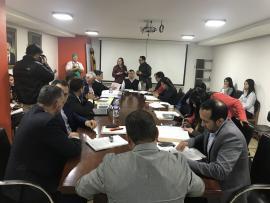 Gobierno de Carlos Amaya sustentó proyecto de creación de la corporación del queso Paipa