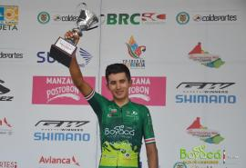 Adrián Bustamante, subcampeón de la Vuelta al Porvenir