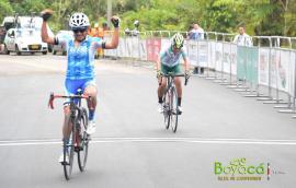 Lorena Colmenares del BRC fue segunda en la etapa de hoy del Tour Femenino