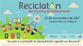 Este 23 de noviembre: Reciclatón por los niños del Departamento