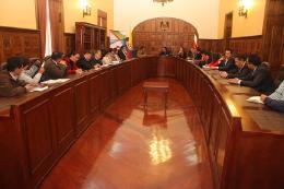 Realizada reunión sobre disposición final de residuos sólidos en Pirgua