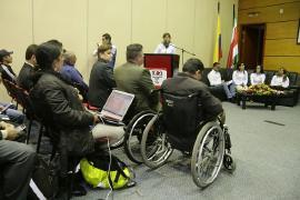 Se aplaza rendición de cuentas de población con discapacidad
