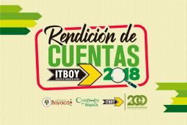 El ITBOY se prepara para rendir cuentas del año 2018