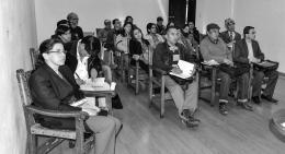 Cultura y Turismo desarrolló reunión departamental de artistas plásticos y visuales