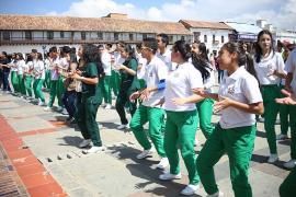 En la Semana Andina, la rumbatón cerró jornada en Tunja