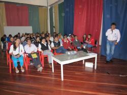 Salud y la ESAP capacitan a líderes y veedores del Valle de Tenza