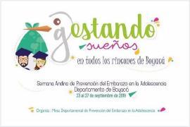 Instituciones educativas están enteradas de la Semana Andina de la Prevención del Embarazo