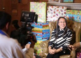 """""""Semillas de Alegría hará felices a los niños de nuestro Departamento"""": Nancy Amaya"""