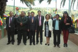 Administración Departamental, en la celebración de los 50 años de institución de Siachoque