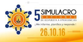 Más de 50 municipios participarán en el V Simulacro Nacional del 26 de octubre