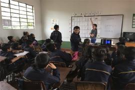 Toma a colegios de Soatá y Tópaga promueve entornos escolares saludables