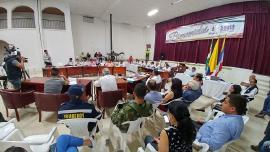 Provincia Norte recibe respaldo de autoridades departamentales
