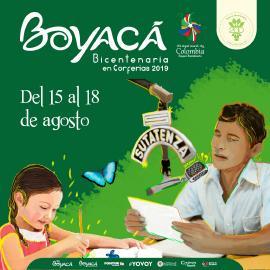 El Auditorio de Corferias celebra a Boyacá