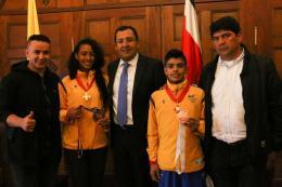 Andrés Moreno y Katherine Dumar son un buen ejemplo para los niños y jóvenes de Boyacá