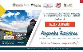 'Taller de Diseño de Paquete Turístico' para beneficiar a los integrantes del sector