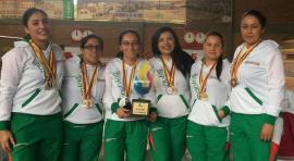 Selección Boyacá femenina de Tejo fue subcampeona en Fusagasugá