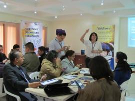 Docentes de la provincia Centro participan en taller 'Líderes innovadores TIC'