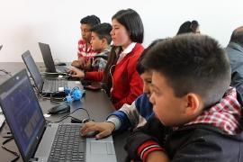 Fundación Telefónica inaugurará aulas digitales en Boyacá
