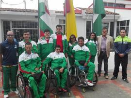 Gerente de Indeportes despidió delegación de la Liga de Silla de Ruedas