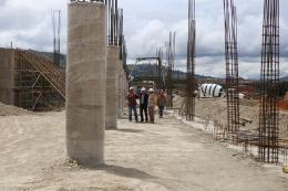 Así va la construcción del terminal de Tunja
