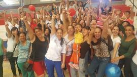 El deporte social y comunitario se tomó a Garagoa