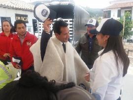 Tibasosa se comprometió con el Octavo Pacto por la Seguridad Vial