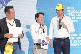 Ministro TIC entregó a Boyacá la llave simbólica de Ciudadanía Digital