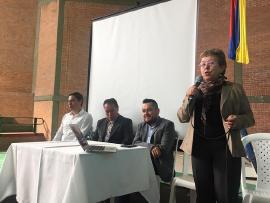 I.E.T Carlos Alberto Olano Valderrama abre sus puertas para realizar el I Encuentro del Comité TIC