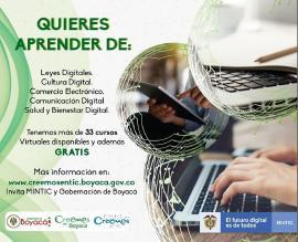 'Ciudadanía Digital' la estrategia con más de 33 cursos virtuales disponibles
