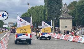 Culminó con éxito estrategia para promoción internacional de Boyacá en el Tour de Francia