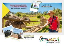 Boyacá es aventura, parques temáticos y reservas naturales