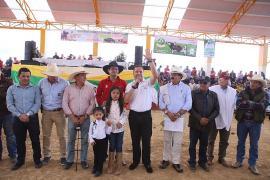 Gobernación entregó en Tuta obras que embellecen su coliseo