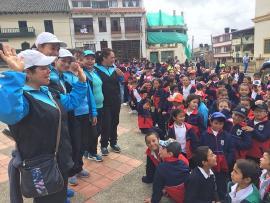 La comunidad educativa ha sido fundamental en la celebración del Mes de la Niñez