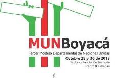 Abren inscripciones para Tercer Modelo Departamental de Naciones Unidas -MUNBoyacá-