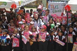 La niñez de Firavitoba y Corrales ya tiene 'Útiles para Crear'
