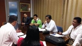 Gobierno de Boyacá evalúa proyecto formación de indígenas U'wa como técnicos en Salud Pública