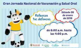 26 de enero: Primera Jornada Nacional de Vacunación y Salud Oral