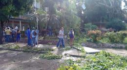 Administración departamental atiende emergencia en Puerto Boyacá