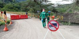 Gobernación de Boyacá hace un llamado para acatar la restricción en la vía Soatá- Boavita