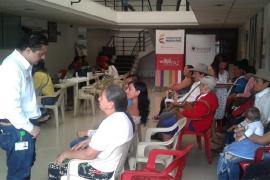 Víctimas del conflicto armado en Pajarito tuvieron atención especial