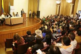 Gobernador lideró entrega de indemnizaciones e incentivos a víctimas del conflicto de Boyacá